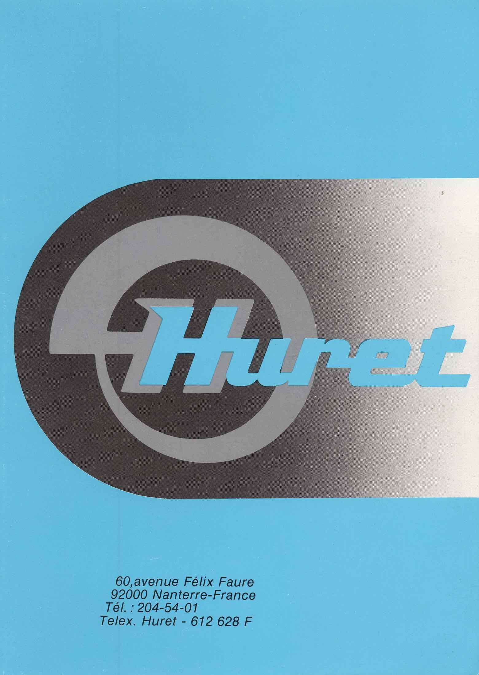 Huret   Catalogue Scan 1 Main Image