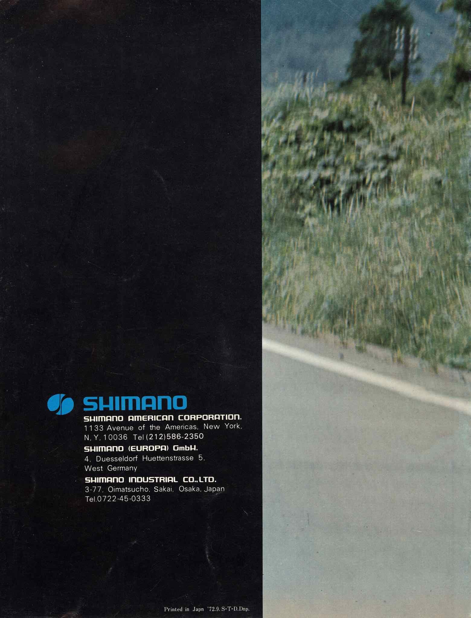 Shimano Bicycle Parts 72 Rear Cover