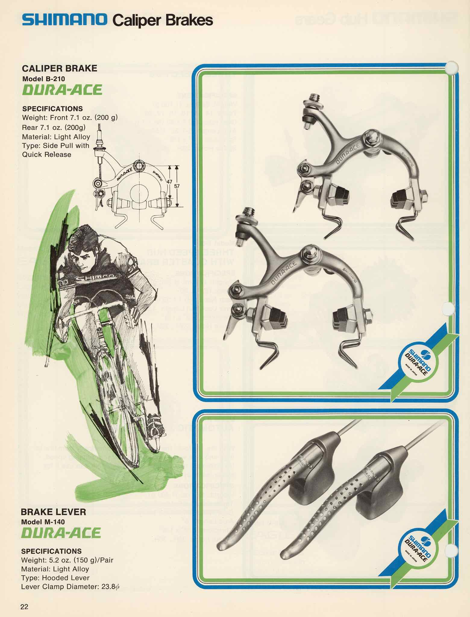 Shimano Bicycle Parts 74 Page 22 Brake Diagram Main Image