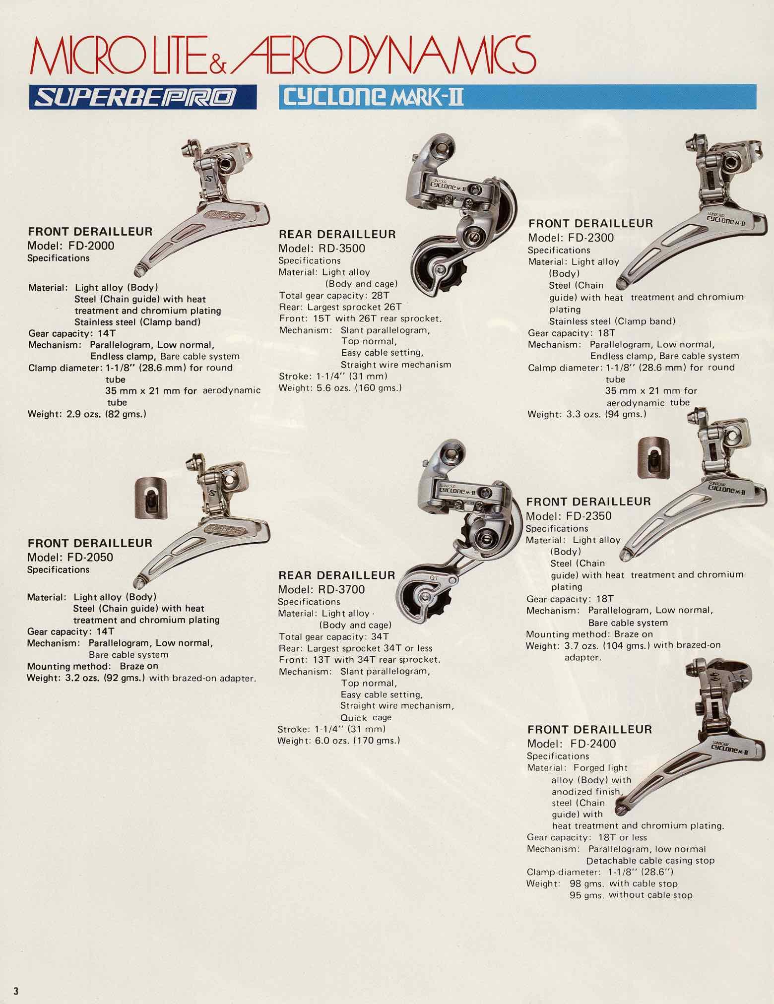 SunTour Catalog No 59 - Page 3