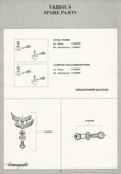 Campagnolo Spare Parts Catalogue - 1993 Product Range