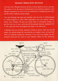 Raleigh owners manual derailleur bicycles raleigh owners manual derailleur bicycles page 2 thumbnail publicscrutiny Images