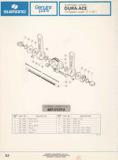 Shimano Bicycle Parts Catalog - 1973